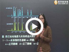 执业药师-药物分析基础学习班视频