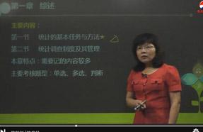 中级统计师视频
