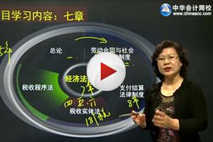 中华会计网校经济法基础预习班