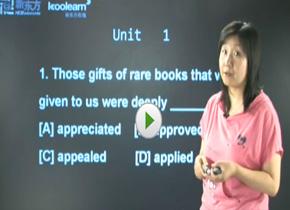 大学英语六级全程班视频
