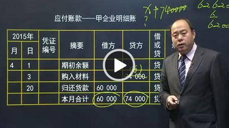 湖南会计从业资格培训课程
