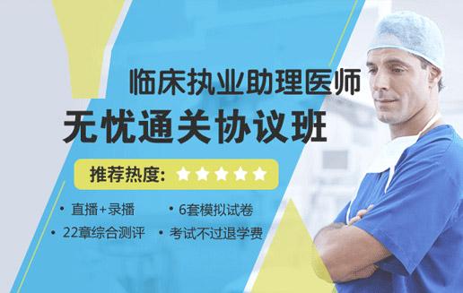 2019年临床执业助理医师培训无忧通关协议班