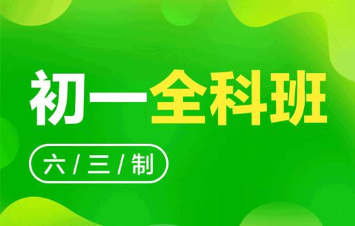 新初一全科强化班(六三制)