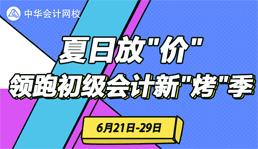 2019初级会计辅导课夏日大放价
