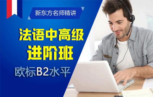 【新东方名师精讲】法语中高级进阶班(B2)