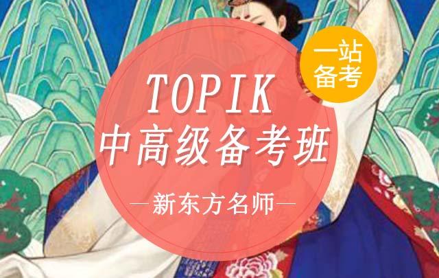 【TOPIK】中高级备考班