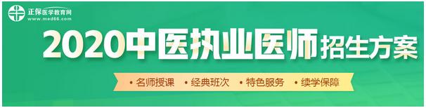 中医执业医师考试培训