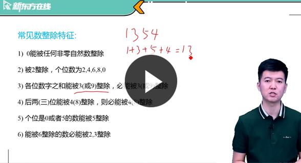 张鑫管综数学课程