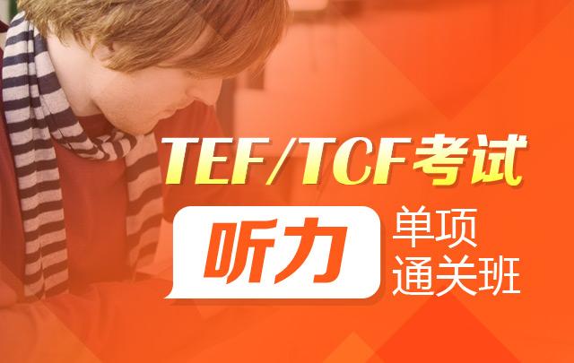 【TEF/TCF考试】听力单项班