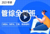 2021考研管综(MBA)