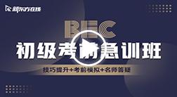BEC商务英语初级考前急训班